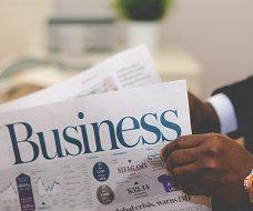 Unsplash photo-Business newspaper Global Tax square
