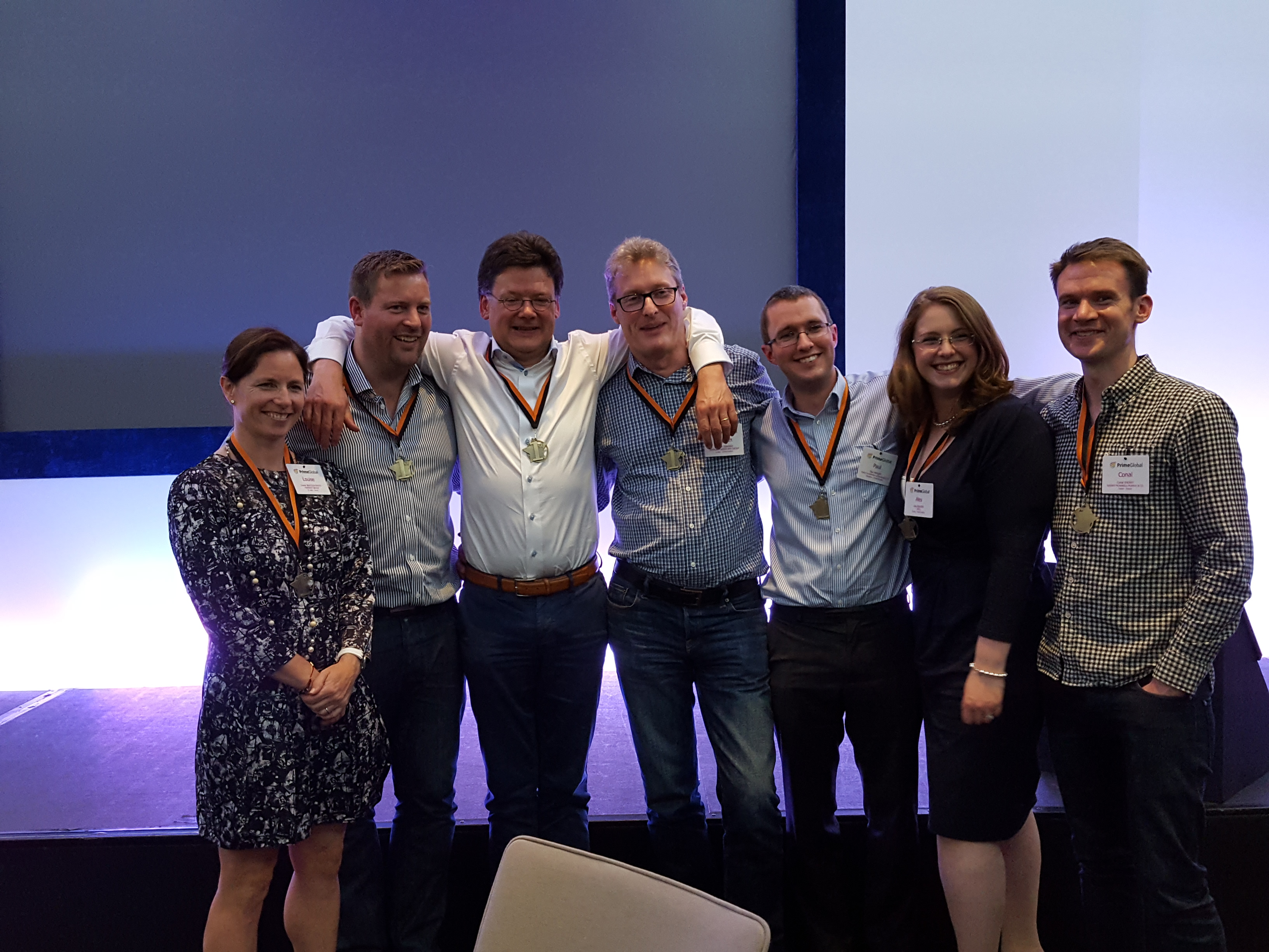 PrimeGlobal UK Ireland Conference Winners
