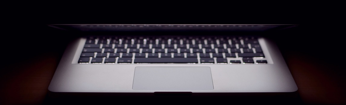 Unsplash -macbook about to be closed cropped