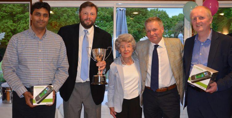 Winner of Jill Fisher Memorial Golf Day 2015