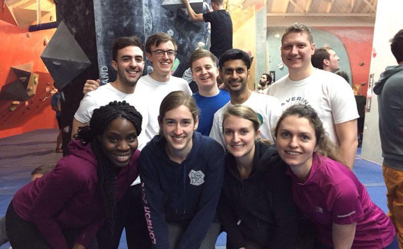 Social Committee activity – Bouldering
