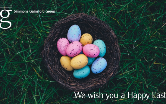 Simmons Gainsford Happy Easter 2017 Opening Hours