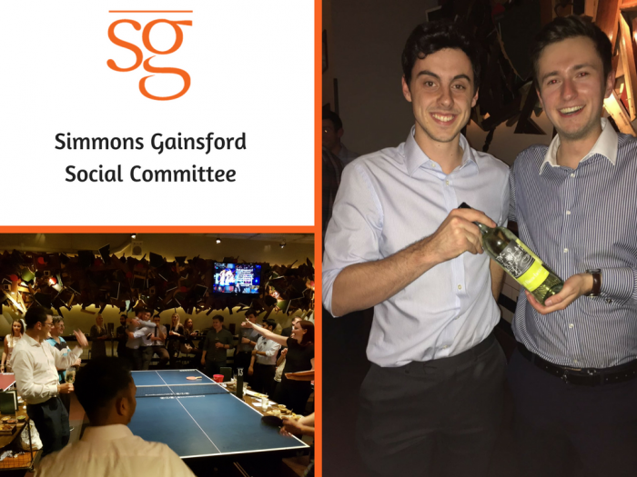 Simmons Gainsford Social Committee