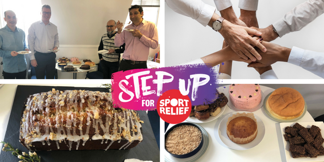 Simmons Gainsford Sports Relief Bake Off