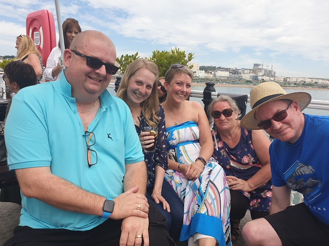 Simmons Gainsford Bask in the Brighton Sun for Annual Staff Summer Social