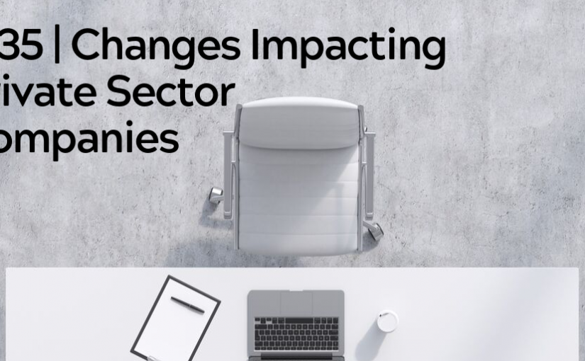 Advice Alert: IR35 in the Private Sector