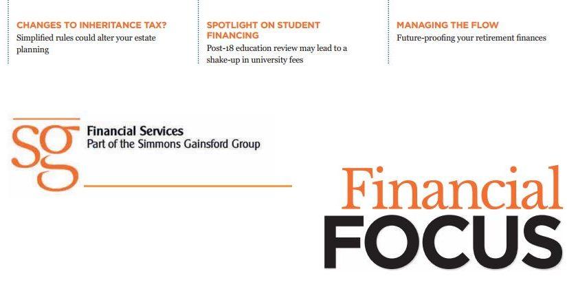 Financial Focus Newsletter – Autumn Edition 2019