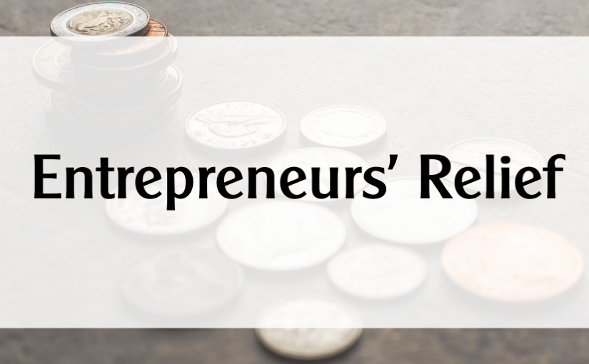 (English) Entrepreneurs' Relief – How can we help?